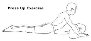 Press Up Exercise